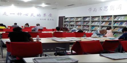 云阳县图书馆阅览室开放活动